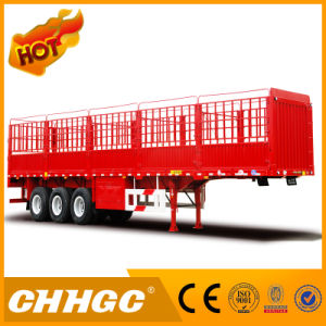 Chhgc Van-Type Truck Cargo Semi-Trailer pictures & photos
