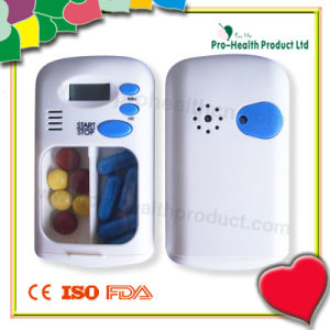 2 Compartments Pill Timer (pH5027) pictures & photos