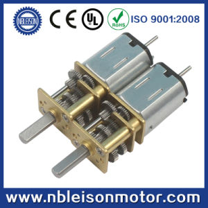12mm Electric Micro Metal Gear Motor with Dual Shaft pictures & photos
