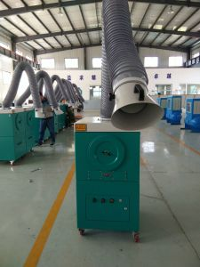 Mobile Portable Welding Fume Collector with PTFE Air Filter Cartridge pictures & photos