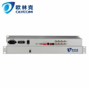 4E1 PDH Multiplexer Fiber Optical Mux