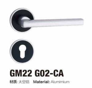 Simple Design Euro Style Aluminum Rosette Lever Handle Lock (GM11 G02) pictures & photos