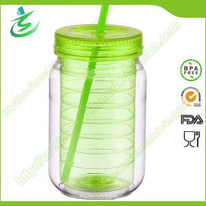 20oz High Quality Plastic Mason Jar with Custom Logo (MJ-D1) pictures & photos