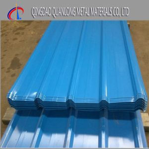 PE Paint Color Coated Corrugated Roofing Steel Sheet pictures & photos