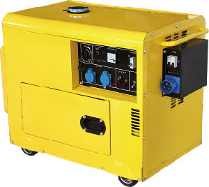 Silent Type Diesel Generator with ATS 5gf-B03 pictures & photos