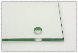 Silk Screen Toughened Glass with Logo/Holes/Edges pictures & photos
