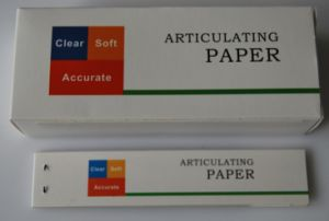Dental Articulating Paper with Blue and Red Color pictures & photos