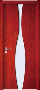 Solid Wooden Door, Wood Door, Glass Wooden Door