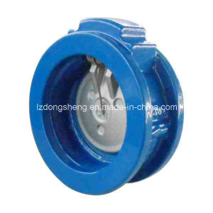 Cast Iron Wafer Single Disc Swing Check Valve Pn10/16 pictures & photos