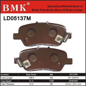Advanced Quality Brake Pads (D5137M) pictures & photos