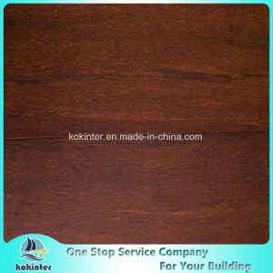 Cheapest Brushed Strand Woven Bamboo Flooring Indoor Use in Coffee Color and Super Quality pictures & photos