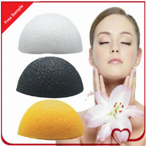 100% Natural Konjac Sponge Wholesale Facial Deep Cleansing Sponge pictures & photos