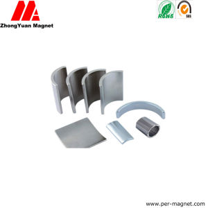 Segment Shape NdFeB Neodymium Permanent Magnet for Chaff Cutter Machines pictures & photos