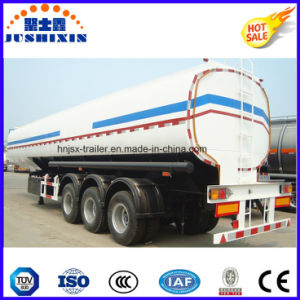 3 Axle 50cbm Carbon Steel Bulk Cargo/Fuel/Oil/Gasoline/Diesel/Petro/Liquid Utility Truck Semi Trailer Tanker for Sale pictures & photos
