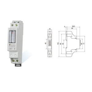 Single Phase DIN Rail Smart Electric Energy Meter pictures & photos