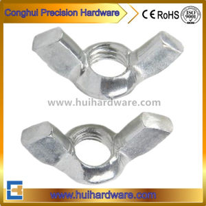 White Zinc Plated Carbon Steel DIN315 Wing Nuts pictures & photos