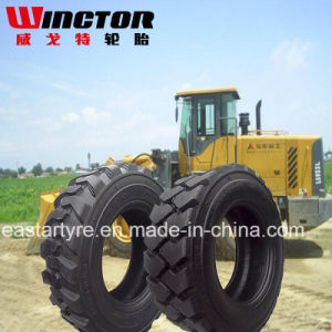 China Shandong Truck Tire, Solid Skid Steer Tyre, 12-16.5 Tyre pictures & photos