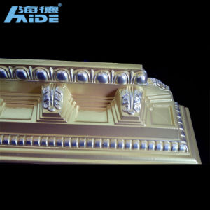 Polyurethane Cornices, PU Cornice, Crown Moulding, PU Corner Moulding pictures & photos