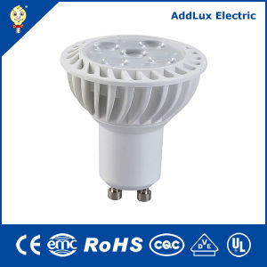 Aluminium Plastic 5W SMD GU10 LED Spotlight Bulb pictures & photos