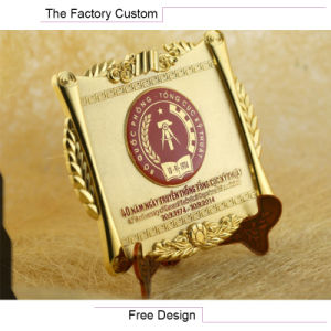 High Quality Metal Alloy Commemorative Plate pictures & photos