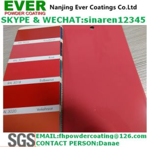 2016 Electrostatic Spray Rose Color Ral3017 Powder Coating pictures & photos