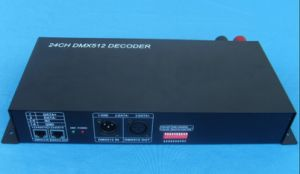 24 Channel RGB DMX 512 Multi Channel Controller, Decoder pictures & photos