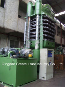 EVA Sheet Foaming Machine with Quick Opening System by Simens System pictures & photos
