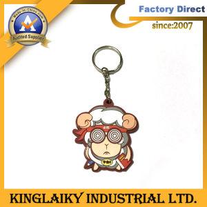 Customized Souvenir Cartoon PVC Keyring for Advertising Gift (KC-2) pictures & photos