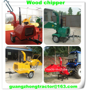 Self Power Hydraulic Wood Chipper, Wood Crusher Chipper Wc-18 pictures & photos