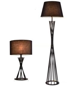 Modern Metal Floor and Table Lamp with Fabric Shade (WH-2257) pictures & photos