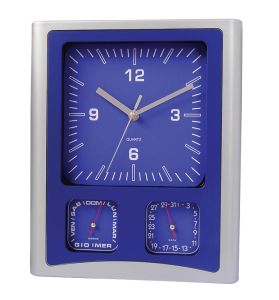 List » Weather Station Wall Clock » New Weather Station Clocks