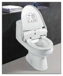Automatic Toilet Seat with Sensor Window and Pressing Button