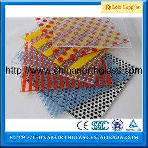 Manufacturer Super Quality Decorative Building Patterned Glass pictures & photos