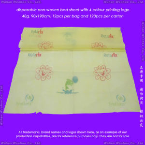 Disposable Non-Woven Bed Cover pictures & photos