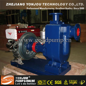 Zw, Zwl Series Diesel Engine Self -Priming Non- Clogging Sewage Pump/Cast Iron or Stainless Steel pictures & photos