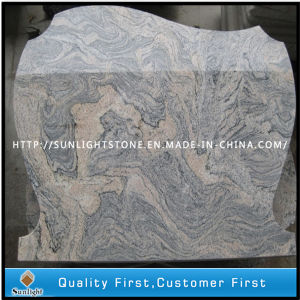Cheap Sand Wave/China Juparana Granite Memorial Plaque Tree Headstones pictures & photos