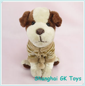 Animal Toys Plush Dog with T-Shirt New Plush pictures & photos