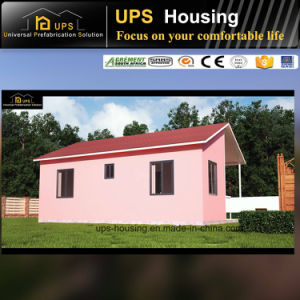 Environmental Friendly Lighting Prefab House Villas with Two Bedrooms pictures & photos
