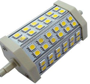 SMD 5050 LED 8W R7s LED Spotlight to Replace Halide Lamp pictures & photos