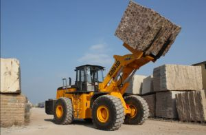 Hot Sale Diesel Forklift for Cat Block Handler Equipment Wheel Loader pictures & photos