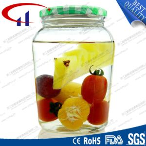 Food Storage High Quanlity Glass Jar with Metal Lid (CHJ8255) pictures & photos