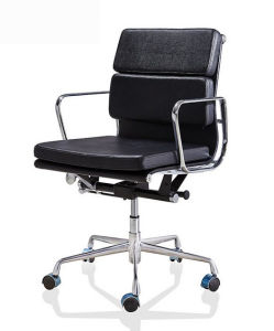 Leather Classical Swivel Aluminium Eames Manager Hotel Office Boss Chair (HX-NCD430) pictures & photos