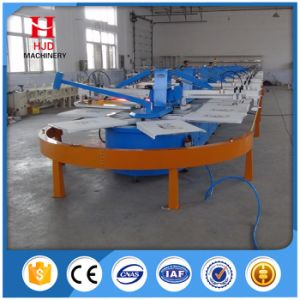 Automatic Multicolor Screen Printing Machine of T-Shirt and Textile pictures & photos