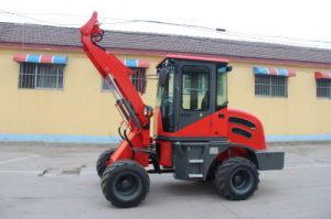 Hydraulic Transmission 1 Ton Wheel Loader for Construction Equipment Zl10 pictures & photos
