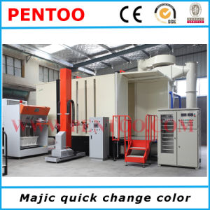 High Performance Powder Coating Booth with Automatic Spraying pictures & photos