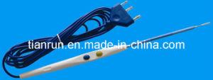 Disposable Electrosurgical Pencil, Blade Shape Electrode, 140mm, Cautery Surgical Electrode pictures & photos