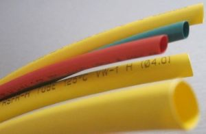2: 1 Flame-Retardant PE Heat Shrink Tube Without Adhesive pictures & photos