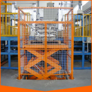 Hydraulic Electric Goods Lift Price Warehouse Cargo Lift pictures & photos