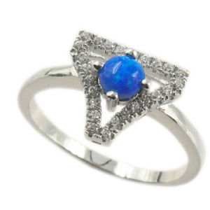 Wholesale China Supplier Fashion Jewelry Opal Ring (PSK5315-R)