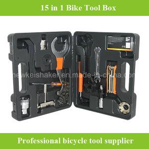 Cheaper 15 in 1 Bicycle Bike Repair Tool Box pictures & photos